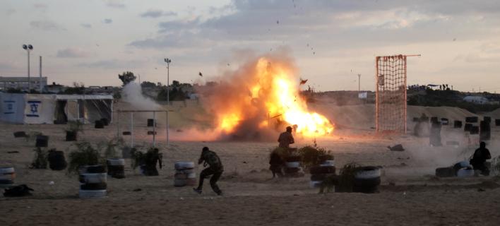 Εκρηξη στη Λωρίδα της Γάζας /Φωτογραφία Αρχείου: ΑΡ