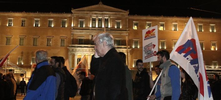 Συλλαλητήριο του ΠΑΜΕ στο Σύνταγμα/Φωτογραφία: Eurokinissi