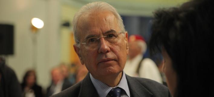 Ο πρώην βουλευτής των ΑΝΕΛ, Παναγιώτης Μελάς, παλαιότερα σε συνέδριο του κόμματος-Φωτογραφία: Eurokinissi/Kώστας Κατωμέρης