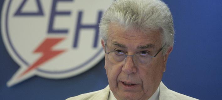 Ο επικεφαλής της ΔΕΗ, Εμμανουήλ Παναγιωτάκης/Φωτογραφία: Eurokinissi