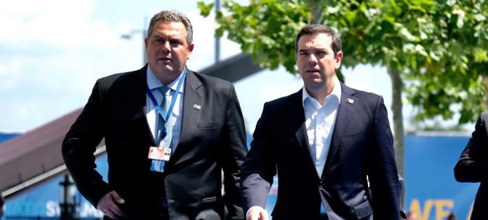 Ελληνική παραφωνία στις Βρυξέλλες -Με άλλη γραμμή ο Καμμένος στο ΝΑΤΟ