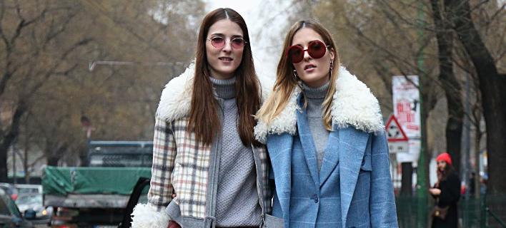 Fashionista ποζάρουν στον φακό/ Φωτογραφία: Shutterstock