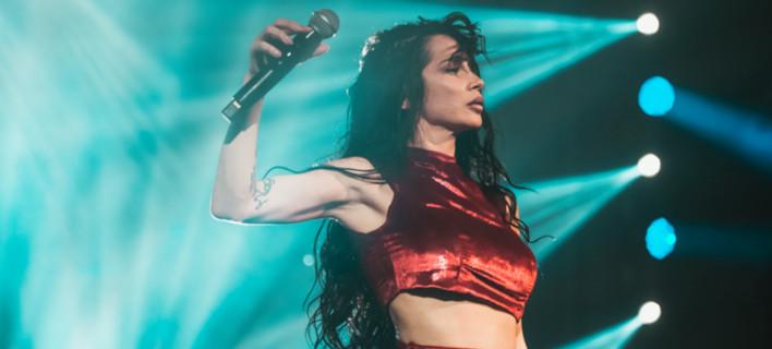 Η τραγουδίστρια Πάολα