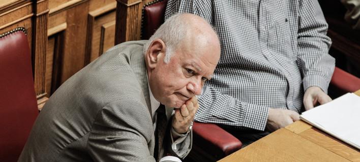 Ο υπουργός Οικονομίας και Ανάπτυξης Δημήτρης Παπαδημητρίου/ Φωτογραφία: Eurokinissi
