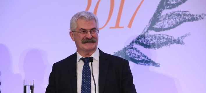 O Kωνσταντίνος Παπαδόπουλος, πρόεδρος του Διοικητικού Συμβουλίου της ΕΥΔΑΠ