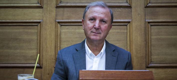 Ο Σάκης Παπαδόπουλος (Φωτογραφία: EUROKINISSI/ ΓΙΑΝΝΗΣ ΠΑΝΑΓΟΠΟΥΛΟΣ)