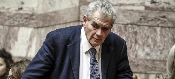 Ο αναπληρωτής υπουργός Δικαιοσύνης Δημήτρης Παπαγγελόπουλος / Φωτογραφία: Eurokinissi