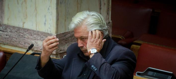 Ο πρώην βουλευτής των ΑΝΕΛ Θανάσης Παπαχριστόπουλος- φωτογραφία eurokinissi