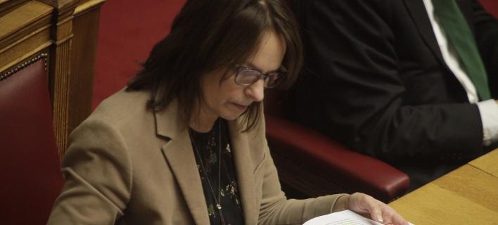 Η  Παπανάτσιου επιβεβαίωσε το παζάρι κυβέρνησης-θεσμών για τα μέτρα-αντίμετρα