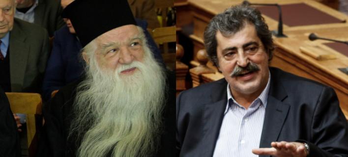 Αμβρόσιος: Για τις πλημμύρες φταίει ο άθεος πρωθυπουργός -Πολάκης: Ευθύνεσαι για τη χρεοκοπία