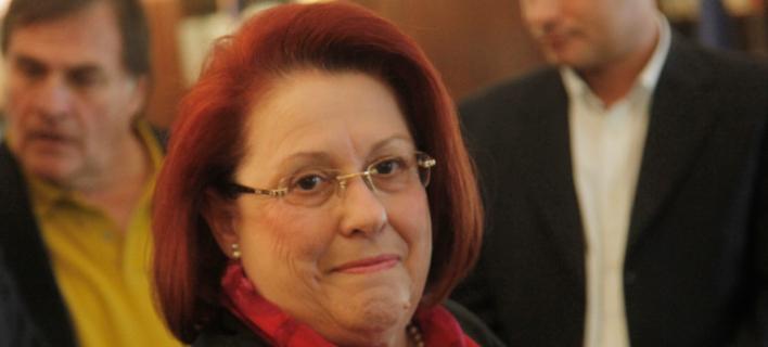Η Γενική Επιθεωρήτρια Μαρια Παπασπύρου -Φωτογραφία αρχείου: Eurokinissi