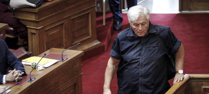 O κοινοβουλευτικός εκπρόσωπος των ΑΝΕΛ, Θανάσης Παπαχριστόπουλος /Φωτογραφία: Εurokinissi