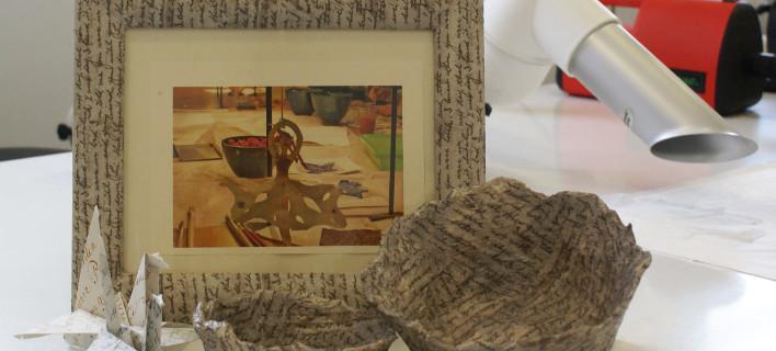 Φτιάχνουμε αντικείμενα από χαρτί στο εργαστήρι του Πολιτιστικού Ιδρύματος Ομίλου Πειραιώς