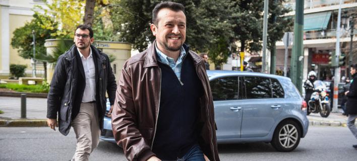 Ο Νίκος Παππάς (Φωτογραφία: EUROKINISSI/ΤΑΤΙΑΝΑ ΜΠΟΛΑΡΗ)