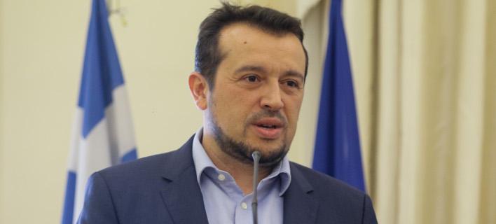 Ο Νίκος Παππάς/ Φωτογραφία: EUROKINISSI- ΓΙΑΝΝΗΣ ΠΑΝΑΓΟΠΟΥΛΟΣ