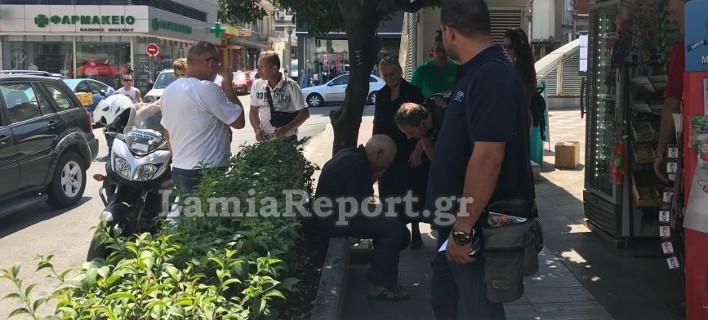Ρομά έπιασαν ηλικιωμένο από το λαιμό για να τον ληστέψουν, στο κέντρο της Λαμίας
