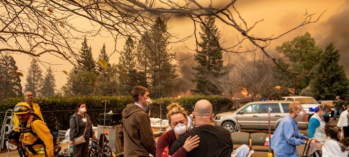 φωτιά στην Καλιφόρνια/Φωτογραφία: AP