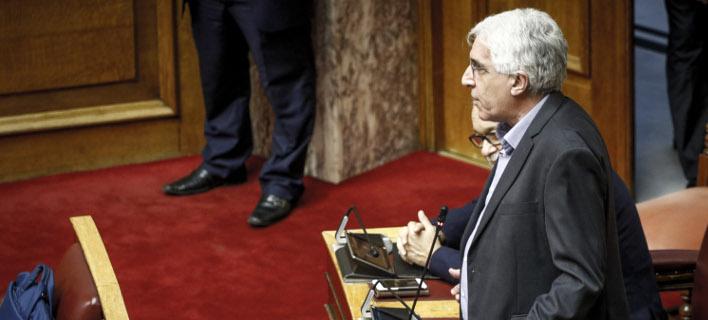 Ο Νίκος Παρασκευόπουλος (Φωτογραφία: EUROKINISSI/ΓΙΩΡΓΟΣ ΚΟΝΤΑΡΙΝΗΣ)