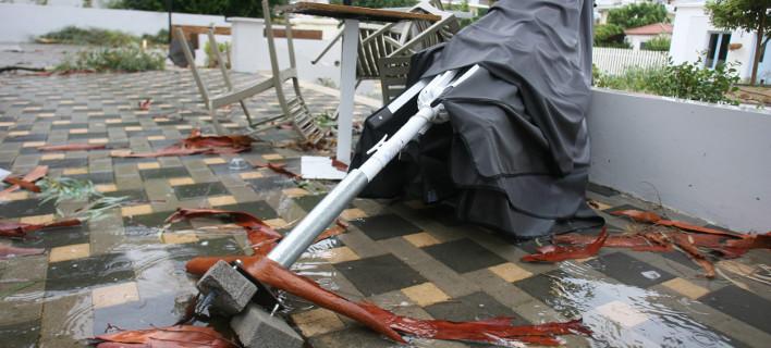Φωτογραφία από τις καταστροφές στην Ηλεία λόγω κακοκαιρίας -Eurokinissi-ilialive.gr