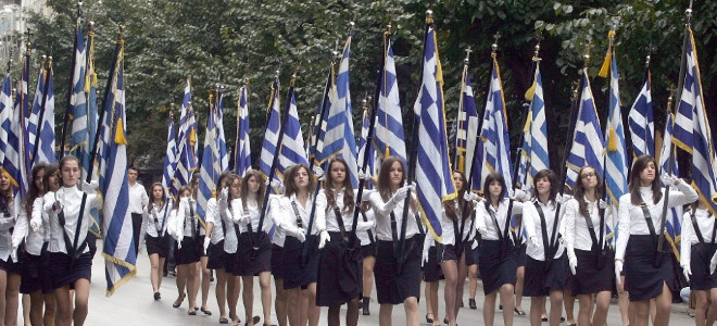 Πάλι τα ίδια -Η αλβανική καταγωγή της σημαιοφόρου προκάλεσε ένταση σε σχολείο στ