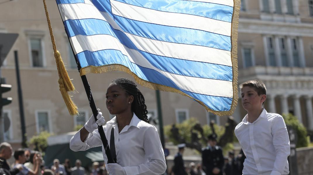 Μαθητική παρέλαση στην Αθήνα - Φωτογραφία: Intimenews/ΛΙΑΚΟΣ ΓΙΑΝΝΗΣ