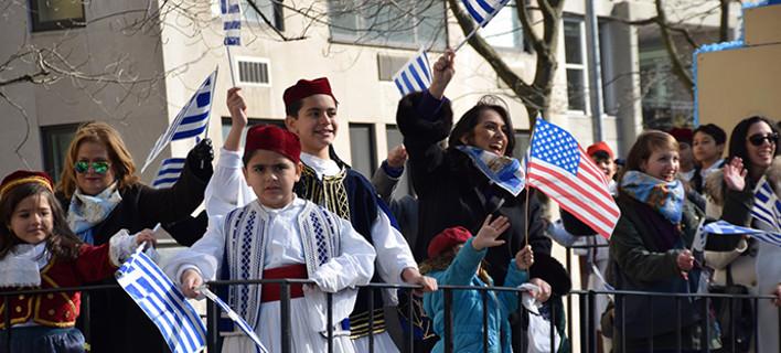 Δείτε τη μεγαλειώδη παρέλαση Ελλήνων στη Νέα Υόρκη -Ποιοι συμμετείχαν [εικόνες]