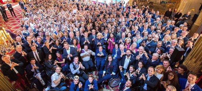 Παρίσι: Η φαντασμαγορική τελετή στο παλάτι των Ηλυσίων για τους Ολυμπιακούς του 2024/ Φωτογραφία: Twitter