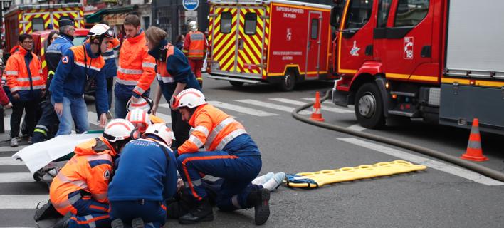 Εκρηξη στο Παρίσι/ Φωτογραφία: AP