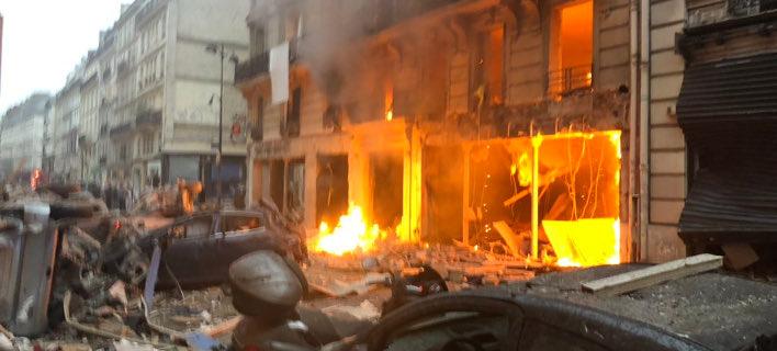 Ισχυρή έκρηξη στο κέντρο του Παρισιού