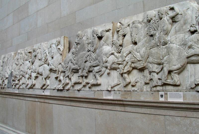 Ο ιστορικός τέχνης ισχυρίζεται πως τα γλυπτά αντικαταστάθηκαν από ρωμαϊκά, προτού τα «πιστωθεί» ο λόρδος Έλγιν