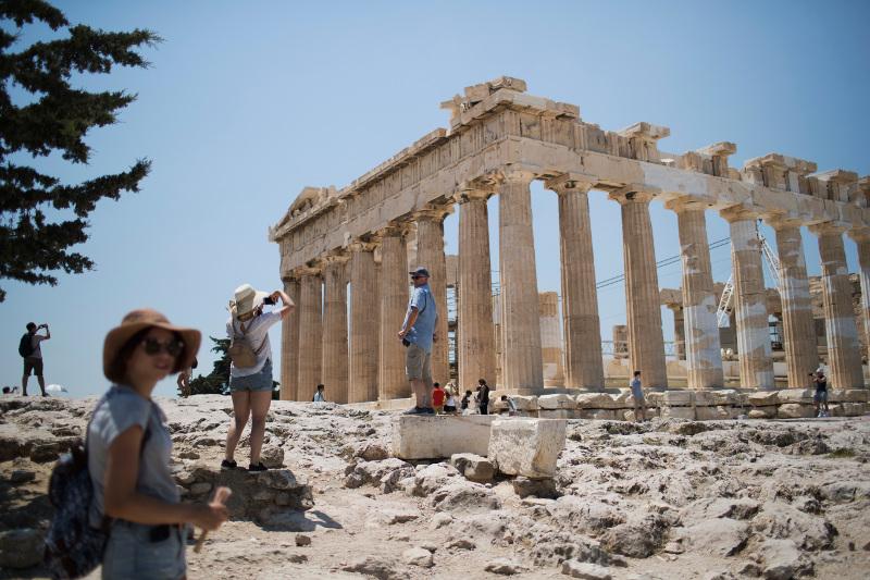 Ο Παρθενώνας στην Ακρόπολη των Αθηνών