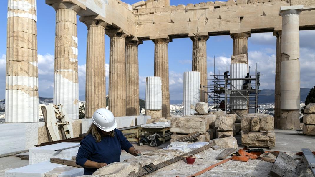 Φωτίζει την οικουμένη 2.500 χρόνια, ώρα για ανακαίνιση στον Ναό του Παρθενώνα -Φωτογραφία: Nikos Libertas / SOOC