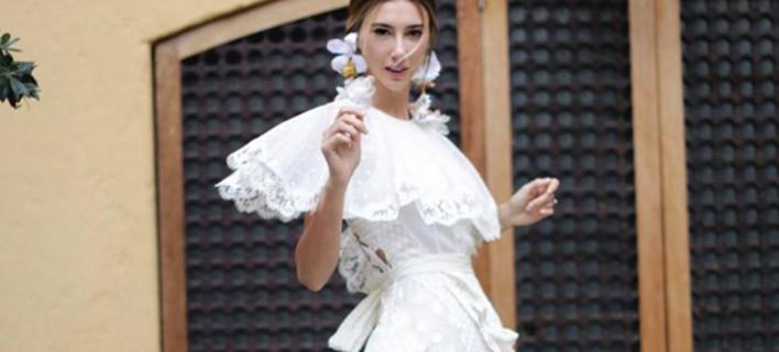 Πασαρέλα νυφικών από τη σύζυγο του Τούρκου καναλάρχη -Φόρεσε 4 στον γάμο της [εικόνες]