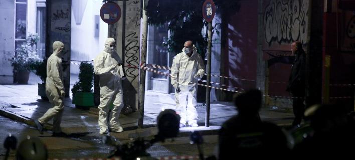 Η Επαναστατική Αυτοάμυνα ανέλαβε την ευθύνη για την επίθεση στα γραφεία του ΠΑΣΟΚ /Φωτογραφία: intime News