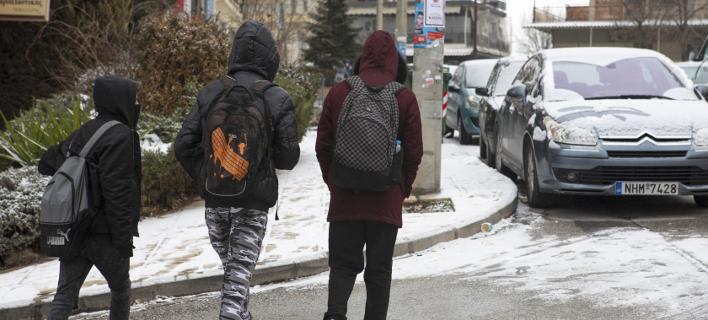 Μαθητές στην Θεσσαλονίκη/ Φωτογραφία: Eurokinissi- ΒΕΡΒΕΡΙΔΗΣ ΒΑΣΙΛΗΣ