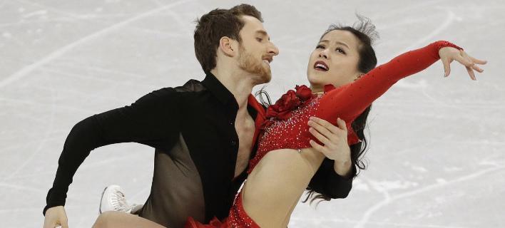 Ιδιαίτερες δυσκολίες για το ζευγάρι από τη Ν. Κορέα (Φωτογραφία: AP/ David J. Phillip)