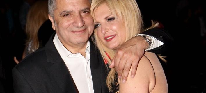 Ο Γιώργος Πατούλης με τη σύζυγό του, Μαρίνα. Φωτογραφία: Eurokinissi