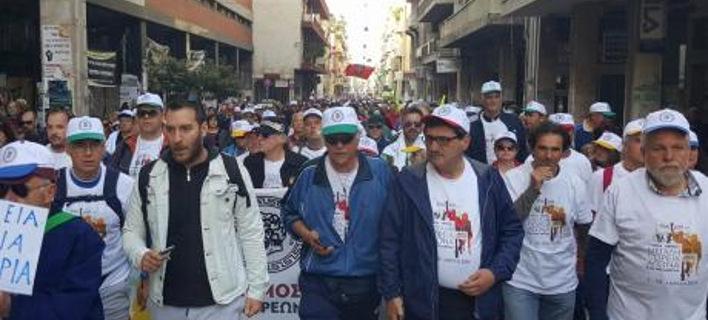 Ξεκίνησε η επταημέρη πορεία των Πατρινών για Αθήνα- Μαζική συμμετοχή [εικόνες]