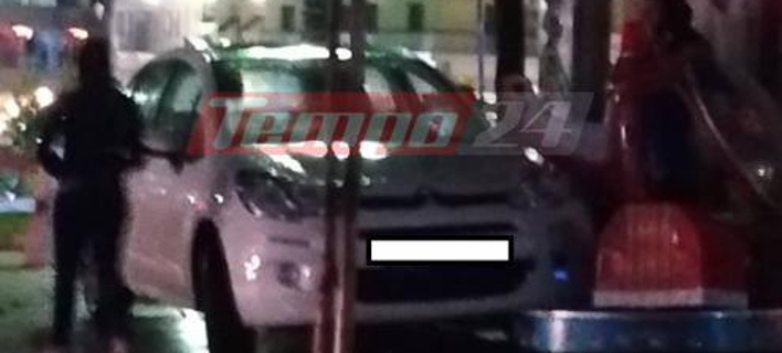 Αυτοκίνητο στην Πάτρα/ Φωτογραφία:tempo24.gr