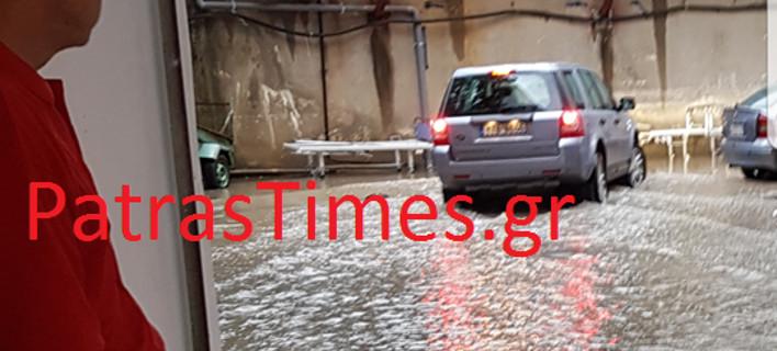 Προβλήματα στην Πάτρα από τον «Δαίδαλο»: Πλημμύρισε το υπόγειο του νοσοκομείου Αγ. Ανδρέας [εικόνες&βίντεο]