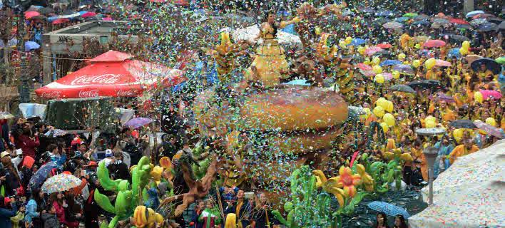 Στιγμιότυπο από το περυσινό καρναβάλι (Φωτογραφία αρχείου: EUROKINISSI)