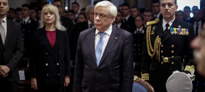 Ο Πρόεδρος της Δημοκρατίας, Προκόπης Παυλόπουλος (Φωτογραφία: EUROKINISSI/ΓΙΑΝΝΗΣ ΠΑΝΑΓΟΠΟΥΛΟΣ)