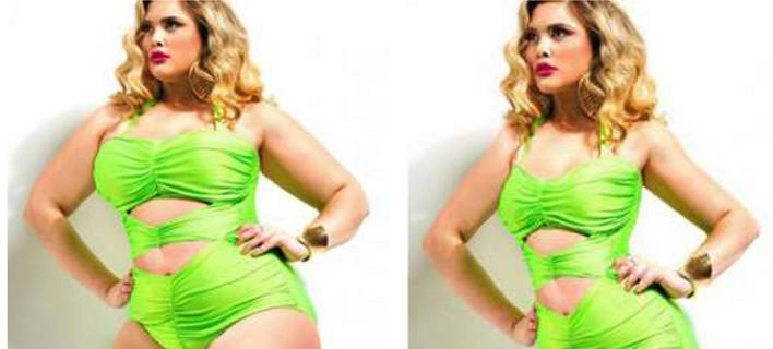 Σελίδα στο facebook κάνει bullying σε παχύσαρκες -Kλέβει φωτογραφίες και τους δείχνει πώς θα ήταν αδύνατες [εικόνες]