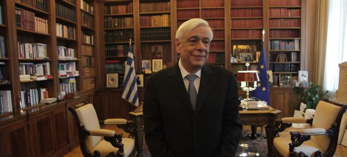 Ο πρόεδρος της Δημοκρατίας, Προκόπης Παυλόπουλος/Φωτογραφία: Eurokinissi