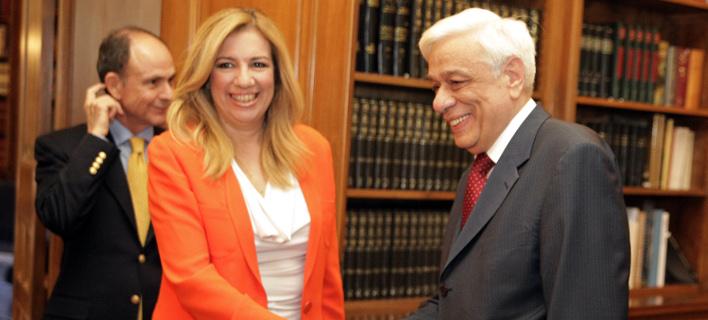 Ο Παυλόπουλος συνεχάρη τη Φώφη Γεννηματά για την εκλογή της
