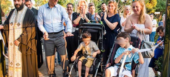 Παιδική χαρά για παιδιά με αναπηρία στην Κηφισιά [εικόνες]
