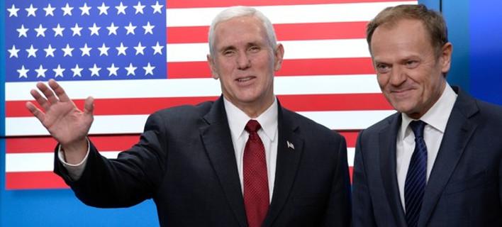 Ο Μάικ Πενς πιο σοβαρός: Οι ΗΠΑ θα σταθούν στο πλευρό της Ευρώπης