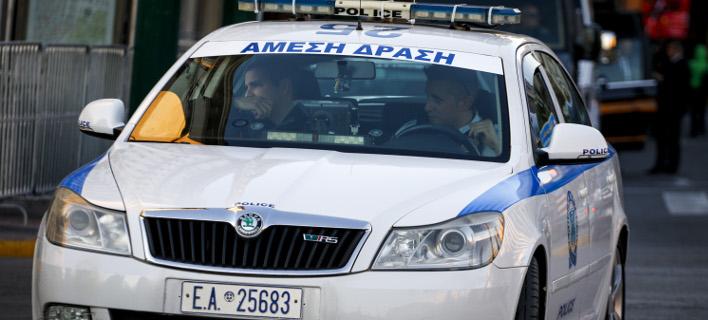 Αστυνομικοί συνέλαβαν τελικά τον δράστη (Φωτογραφία αρχείου: EUROKINISSI/ΓΙΩΡΓΟΣ ΚΟΝΤΑΡΙΝΗΣ)