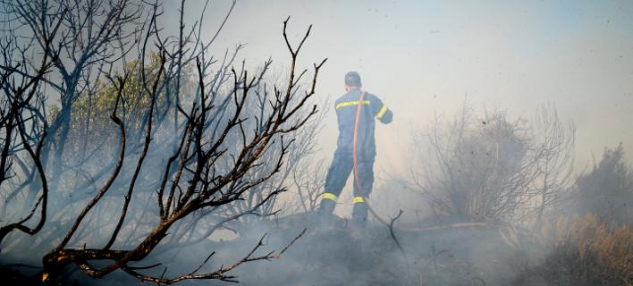 Κανέναν ενεργό μέτωπο πλέον στην Ανάληψη και το Περιστέρι/ Φωτογραφία: ΝΙΚΟΛΟΠΟΥΛΟΣ ΑΝΤΩΝΗΣ/ Eurokinissi