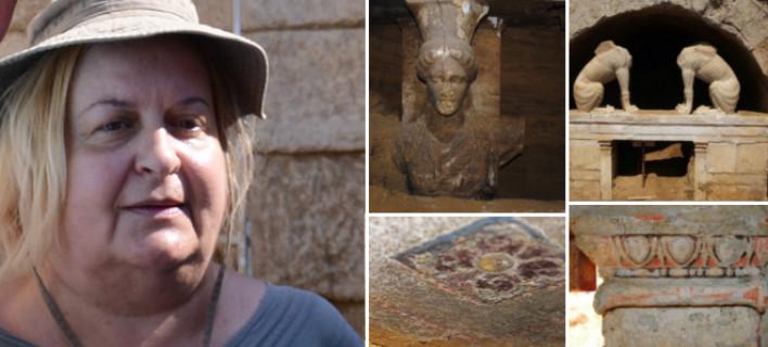 Κατερίνα Περιστέρη: Ματώνει η ψυχή μου με την εγκατάλειψη της Αμφίπολης